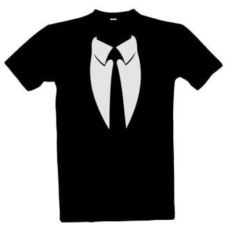 Tričko s potiskem obleku