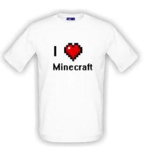 Triko miluji Minecraft