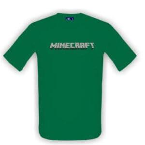 Triko s textem Minecraft