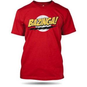 Teorie velkého třesku tričko bazinga