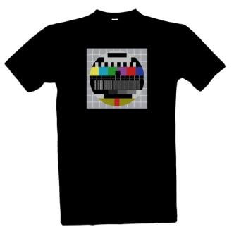 Tričko s potiskem Monoskop