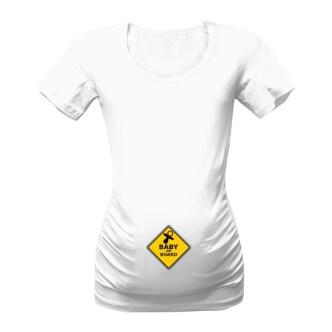 Těhotenské tričko s potiskem Baby on board
