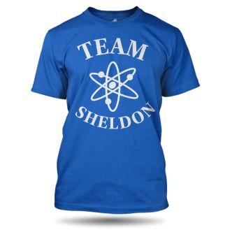Tričko s potiskem Team Sheldon