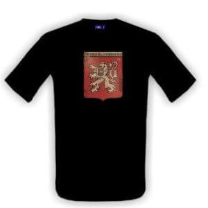 Tričko s potiskem ČS lev
