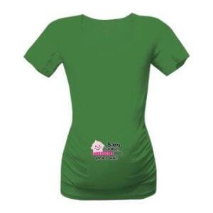 Těhotenské tričko s potiskem Loading