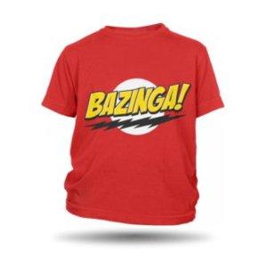 Dětské tričko s potiskem Bazinga