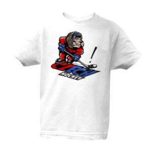 Dětské tričko s potiskem Czech hockey