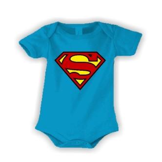 Dětské body s potiskem Supermimi