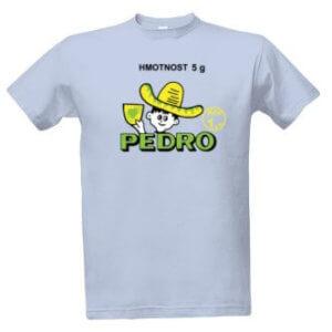Tričko s potiskem Pedro