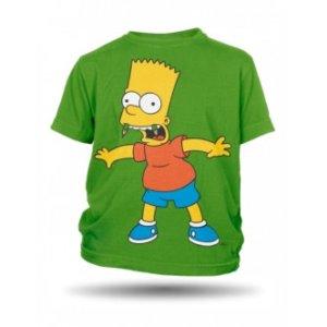 Dětské tričko s potiskem Bart Simpson tužky