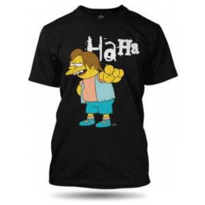 Pánské tričko Nelson Simpsonovi HaHa