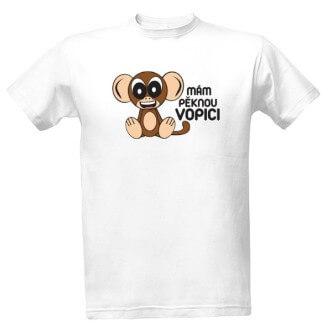 Tričko s potiskem Mám pěknou vopici