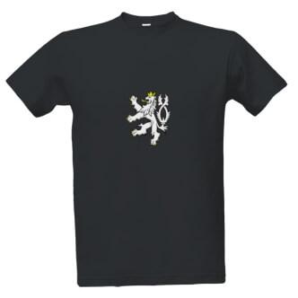 Tričko s potiskem českého lva