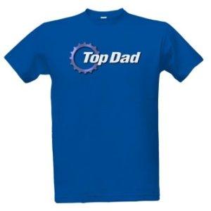 Tričko s potiskem Top dad