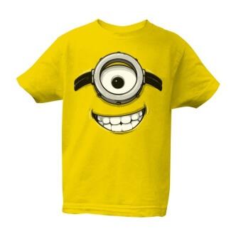 Dětské tričko s potiskem Mimoň usměvavá tvář