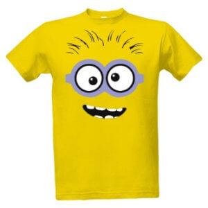 Tričko s potiskem Crazy minion