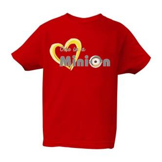 Dětské tričko s potiskem One in a minion