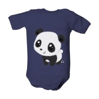 Dětské body s potiskem Panda