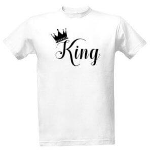 Tričko s potiskem King