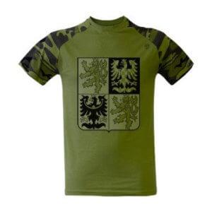 Tričko s potiskem Český znak