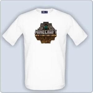 Tričko s potiskem Minecraft Adventure