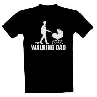 Tričko s potiskem pro tatínky The Walking dad