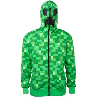 Mikina Minecraft Creeper