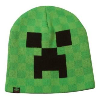 Zimní čepice Minecraft