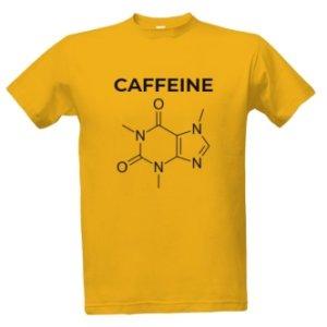 Tričko s potiskem Caffeine