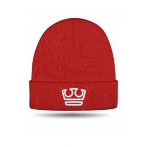 Čepice Jirka Král zimní červená