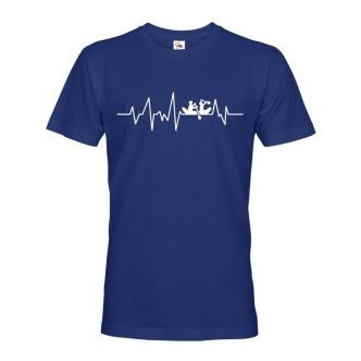 Tričko s potiskem Vodácký puls