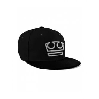 Snapback Jirka Král černý šedé logo