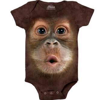 Body s potiskem Orangutan