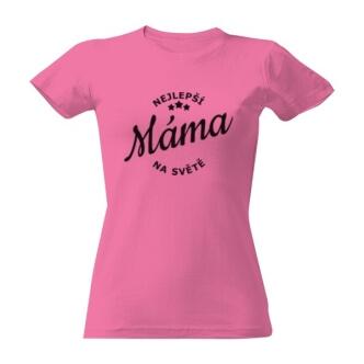 Tričko s potiskem Nejlepší máma na světě