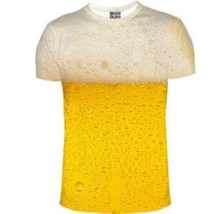 Tričko s potiskem pivo