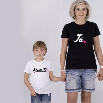 Set triček s potiskem Já & Malé Já