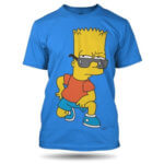 Tričko Bart Simpson Glasses