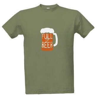 Tričko s potiskem Pivko