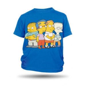Tričko s potiskem Simpson Boys dětské