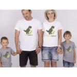 Trička pro rodinu Rodinosaurus