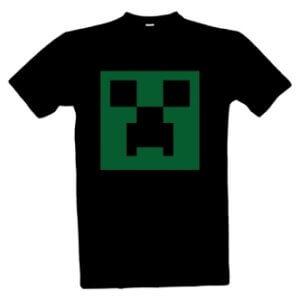 Tričko s potiskem Creeper Minecraft