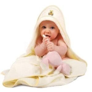 Dětská froté osuška Maxi s kapucí