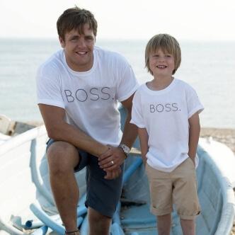 Set triček s potiskem Boss
