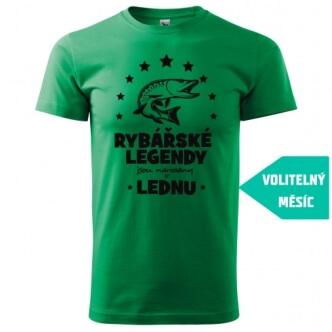 Tričko s potiskem Rybářské legendy