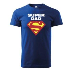 Tričko s potiskem tatínky Super Dad