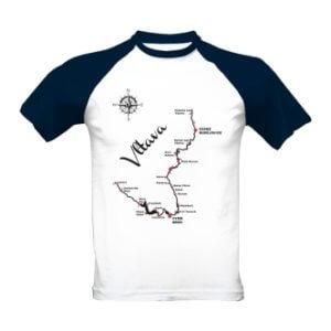 Tričko s potiskem Tok Vltavy