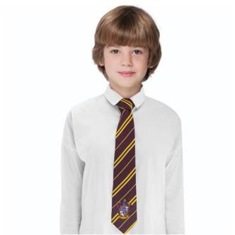 Dětská kravata Harry Potter se znakem Nebelvíru