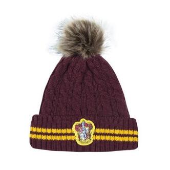 Zimní čepice Harry Potter Nebelvír