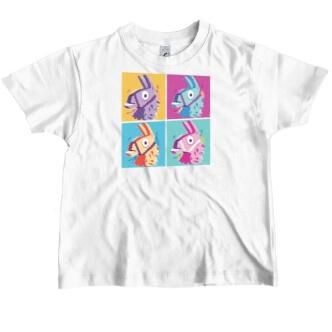Dětské tričko s potiske Fortnite lama