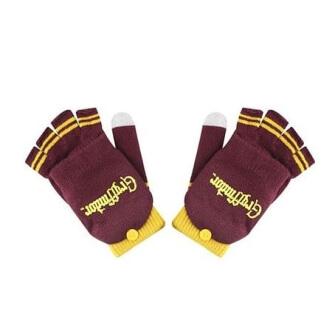 Odklápěcí rukavice Harry Potter Nebelvír fialovozlaté